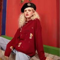 elf sack 1110_AL2029 女士针织毛衣