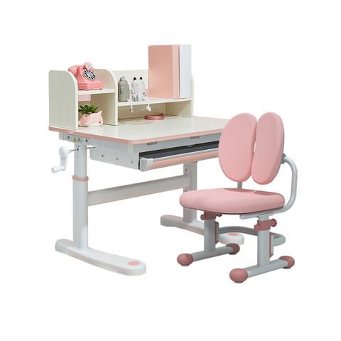 爱果乐儿童学习桌套装小学生学习课桌椅升降写字书桌家用