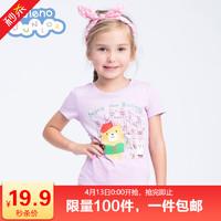 13日0点:Baleno 班尼路 女童卡通印花短袖T恤