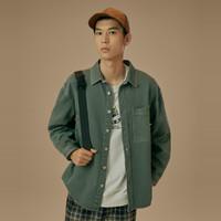 GXG GB121021E400  男士衬衫式夹克