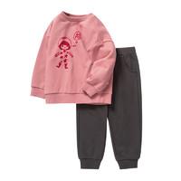 限尺码、88VIP:Mini Balabala 迷你巴拉巴拉 儿童长袖套装