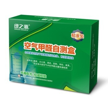 绿之源 空气甲醛自测盒精准装
