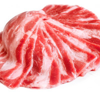艾克拜尔 厚切雪花肥牛片 火锅食材 调理牛肉生鲜 1000g*2袋