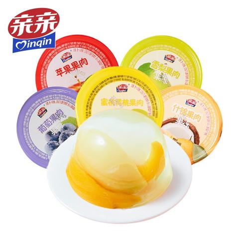 亲亲 零食果冻 什锦混合口味果肉1000g组合装休闲零食布丁魔芋果冻