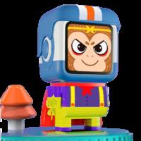 小木  百变悟空机器人AI早教故事机 百变积木套装