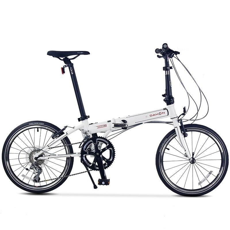 DAHON 大行 折叠自行车 KAC083 白色 18速