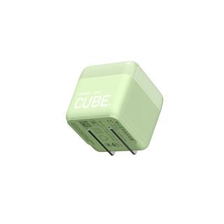 努比亚方糖 苹果华为22.5W充电头兼容iphone12/11pro/SE2/Xs/XR/小米20W 草绿色