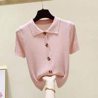 Puella 女士Polo领针织衫 2F11074GL998