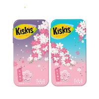 KisKis 酷滋 无糖薄荷糖 樱花味组合装 36g(樱花梦幻紫色1盒+樱花梦幻蓝色1盒)