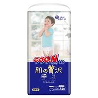 GOO.N 大王 奢华肌 滋润保湿拉拉裤 XL34片