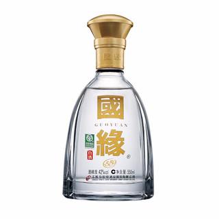 今世缘 国缘对开 42%vol 柔雅型白酒 550ml 单瓶装