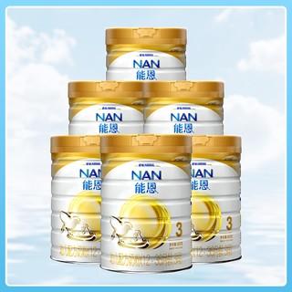 Nestlé 雀巢  国行版 能恩 幼儿配方奶粉 3段 900g*6罐