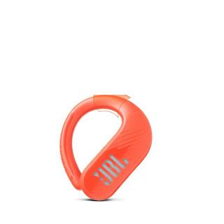 JBL 杰宝 ENDURANCE PEAK II 挂耳式真无线蓝牙耳机 红色