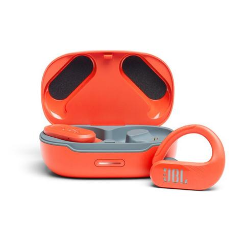 JBL 杰宝 ENDURANCE PEAK II 入耳式挂耳式真无线蓝牙耳机 红色