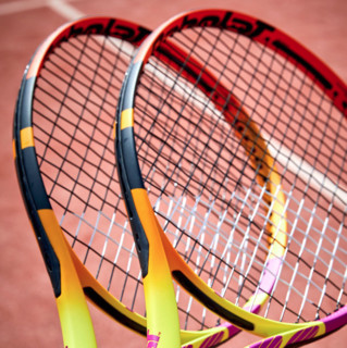 BABOLAT 百保力 Pure Aero Rafa 网球拍 101455 黄黑色 2号柄