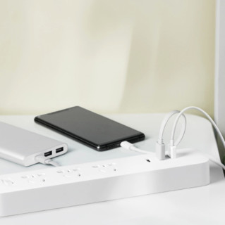 MIJIA 米家 XMCXB01QM 延长线插座 快充版 白色