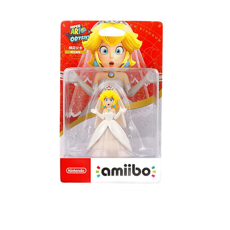 Nintendo 任天堂 amiibo系列 桃花公主 婚礼造型