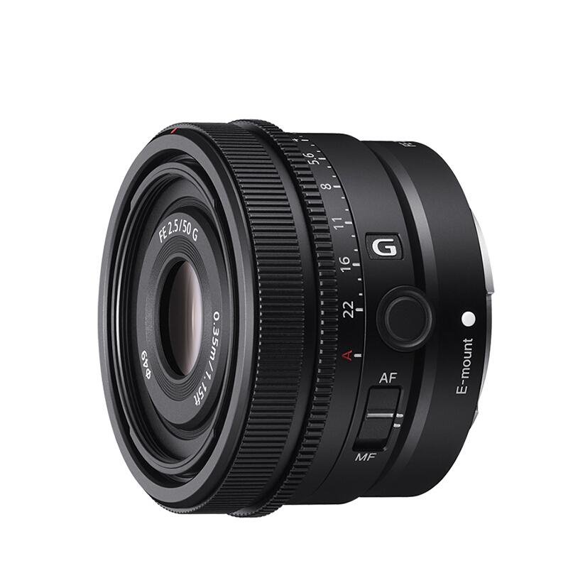 SONY 索尼 FE 50mm F2.5 G 标准定焦镜头 索尼FE卡口 49mm