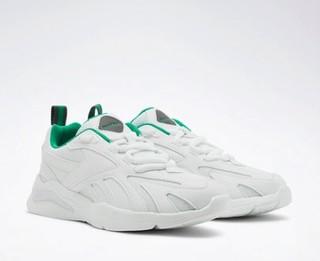 Reebok锐步运动OYAL ASTRORUN男女低帮休闲鞋 44 FZ4048-白色/深灰色/绿色