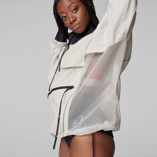 adidas 阿迪达斯 Smc Asmc Bd Pullon 女子运动卫衣 GL7630 灰白色 XXL