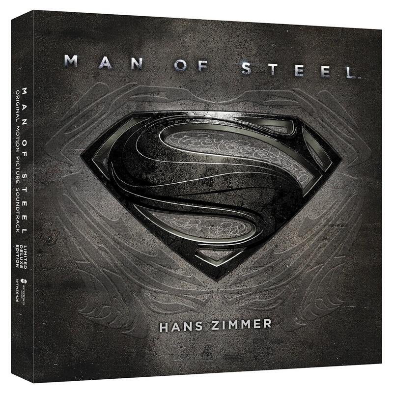 《汉斯·季默:超人 钢铁之躯电影原声带》(限量豪华珍藏版、2CD)