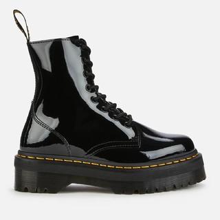 DR. MARTENS 马丁博士 Jadon Patent 8空漆皮厚底马丁靴