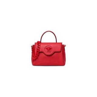VERSACE 范思哲 La Medusa系列 女士牛皮革手提包 DBFI039-DVIT2T 红色 中号