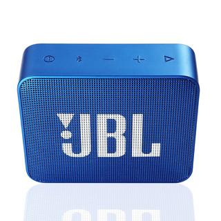 JBL 杰宝 GO2 便携式蓝牙音箱 深海蓝