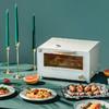石崎秀儿烤箱家用智能烘焙工具小型多功能微蒸汽小蒸烤箱电烤箱烤炉蒸烤一体S0