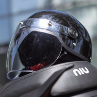 Niu Technologies 小牛 511G1101J 3c认证 男女款电动摩托车头盔
