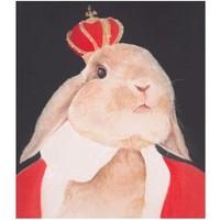 买买艺术 何晓蕾《加冕》版画 油画 客厅装饰画 30*40cm 美术纸