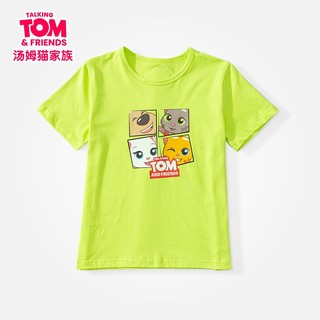 TalkingTom 会说话的汤姆猫 儿童T恤短袖