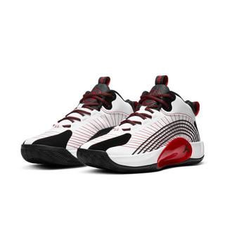 AIR JORDAN Jumpman 2021 PF 男子篮球鞋 CQ4229-100 白/黑/红 43