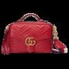 GUCCI 古驰 GG Marmont系列 女士皮革手提斜挎包 498100 DTDPT