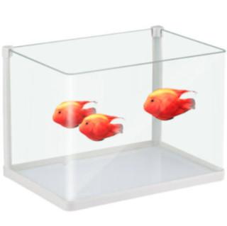 SUNSUN 森森 鱼缸水族箱生态超白玻璃缸桌面水草缸客厅造景金鱼缸 热弯超白缸180*140*175mm