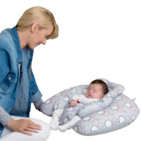Clevamama 可俐媽媽 嬰兒多功能哺乳枕 灰色 62*52cm