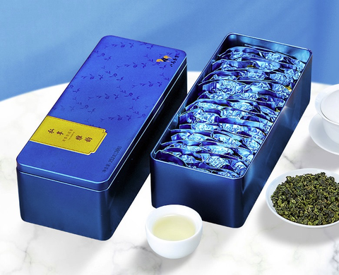 bamatea 八马茶业 一级清香型铁观音 252g ×2铁盒装
