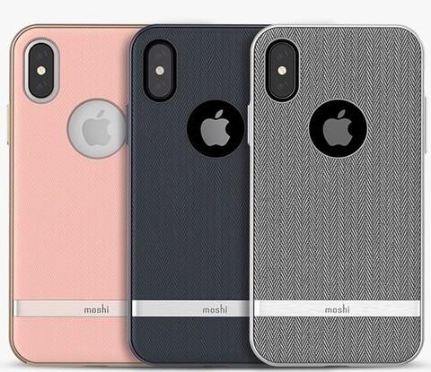 moshi 摩仕 Moshi 摩仕 苹果iPhone X/XS 布艺手机壳