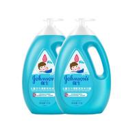 强生 Johnson 儿童活力清新洗发沐浴露二合一1千克*2 儿童洗护沐浴乳液洗头膏宝宝洗发水婴儿沐浴液