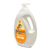 强生(Johnson)儿童燕麦滋养沐浴露1L洗护婴儿沐浴乳泡泡浴家庭适用