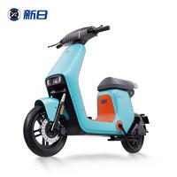 新日(sunra)新国标电动自行车XC3 新品 都市代步 48V24AH/本彩清新绿 /本彩中灰