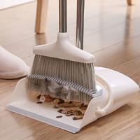 家用软毛扫地防风扫把簸箕套装