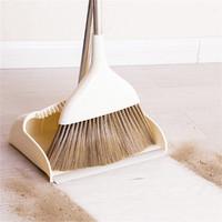 扫把大扫除家用扫帚软毛带刮齿浴室不沾头发簸箕扫地魔术笤帚