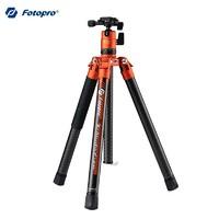 Fotopro 富图宝 空气二号 碳纤维三脚支架 哑橙色