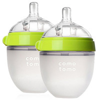 Comotomo 可么多么 婴儿硅胶奶瓶 150ml 2个装