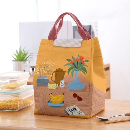 木槿之恋  手提式保温饭盒包 6款可选