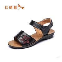 RED DRAGONFLY 红蜻蜓 REDDRAGONFLY WTK2006311 女士凉鞋
