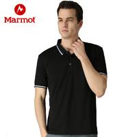 黑卡会员:Marmot 土拨鼠 N67921 男士速干透气POLO衫
