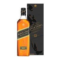 PLUS会员:JOHNNIE WALKER 尊尼获加   黑牌 苏格兰威士忌 1000ml