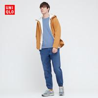 优衣库 男装 束脚运动裤(牛仔)(水洗产品) 437971 UNIQLO